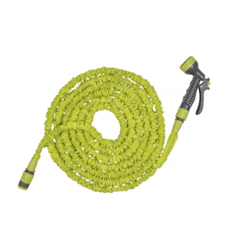 Wunderschlauch grün, dehnbar, flexibel 7,5 bis 22 m