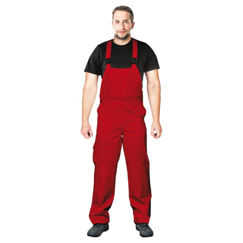 beste Turnschuhe bestbewerteter Beamter Rabatt-Verkauf Arbeitslatzhose rot (BISTER)