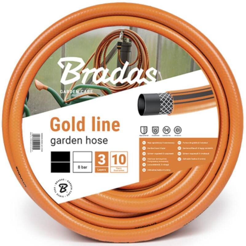 gartenschlauch 3 4 wasserschlauch orange gold line 30m. Black Bedroom Furniture Sets. Home Design Ideas