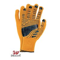 PVC Handschuhe orange